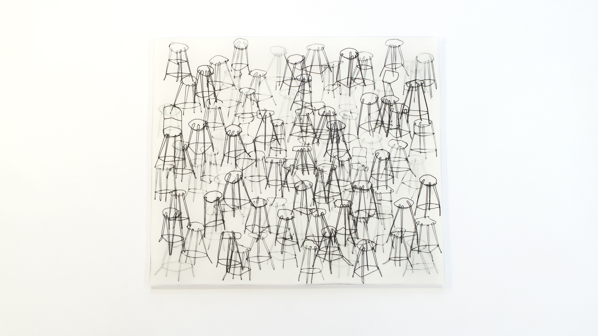 의자의 숲, 생각의 정원 : Forest of the stools, Garden of the thoughts